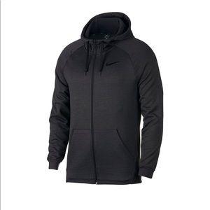 Nike Dri-Fit hooded zip up sweatshirt small
